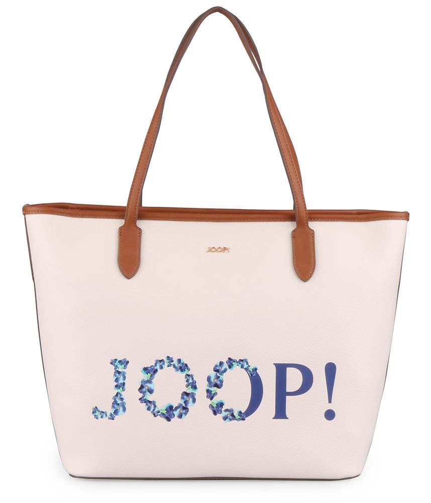 JOOP! Dámská shopper kabelka Cortina Bouguet 4140003861 - bílá