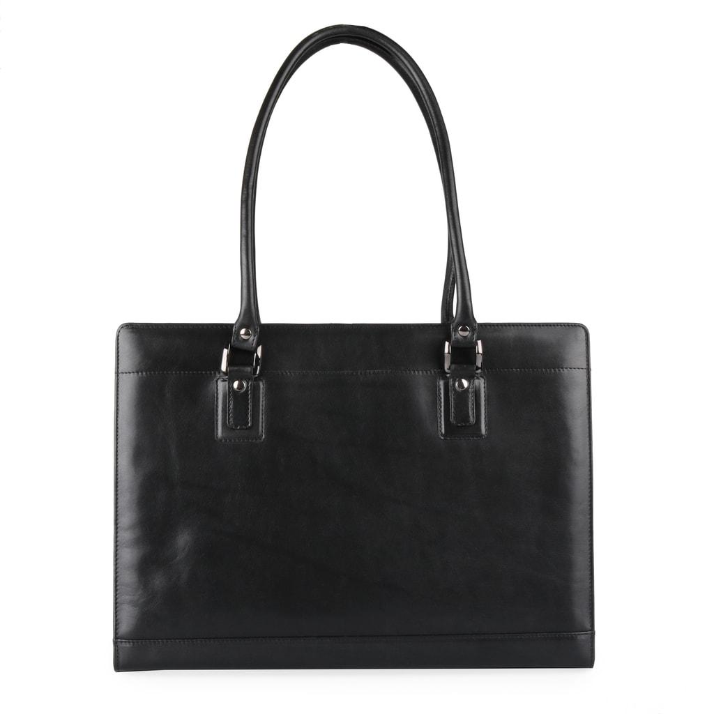Dámská kožená kabelka přes rameno 1299213 černá - Hajn - Kabelky ... 83e1f2d13cf