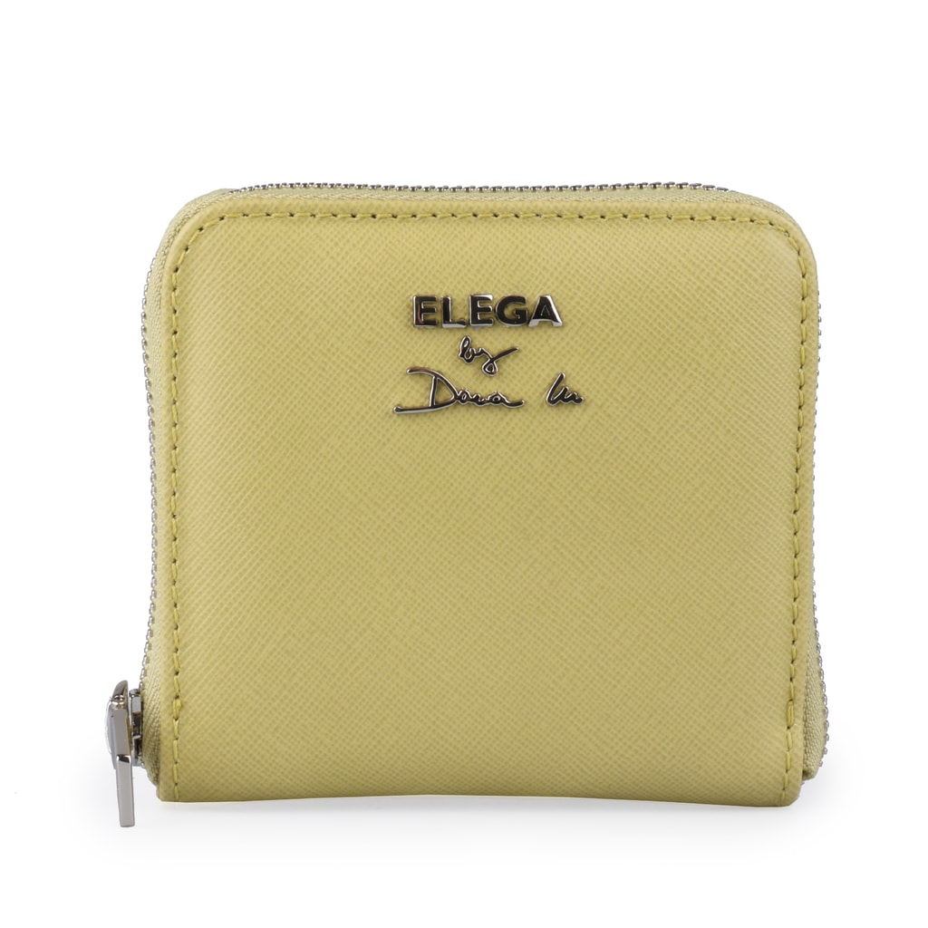 Elega by Dana M Dámská kožená peněženka euphoria 69229-537s - lemon