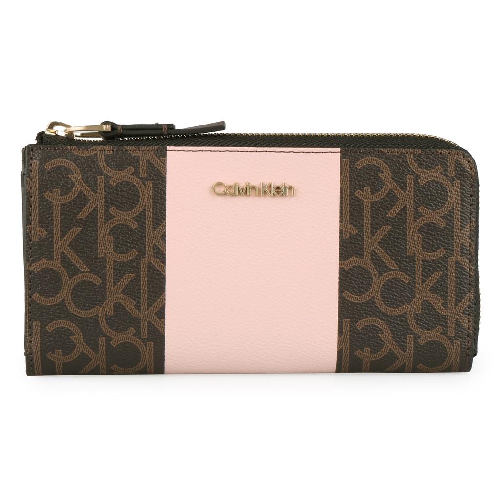 Calvin Klein Dámská peněženka Mono Block Large K60K604693 - růžová