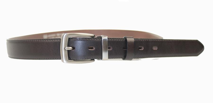 Penny Belts Pánský kožený opasek 30/020/1, hnědý