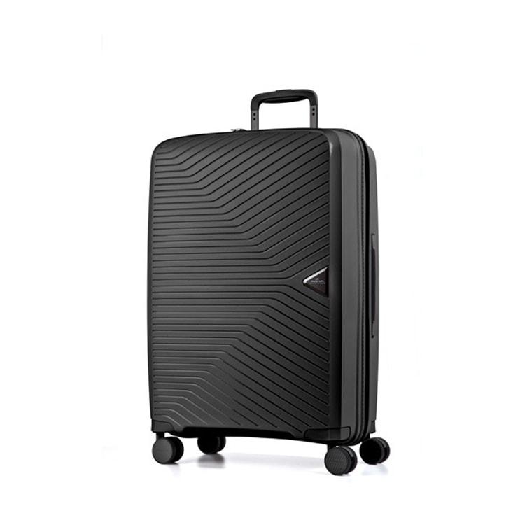 March Cestovní kufr Gotthard 111 l - černá