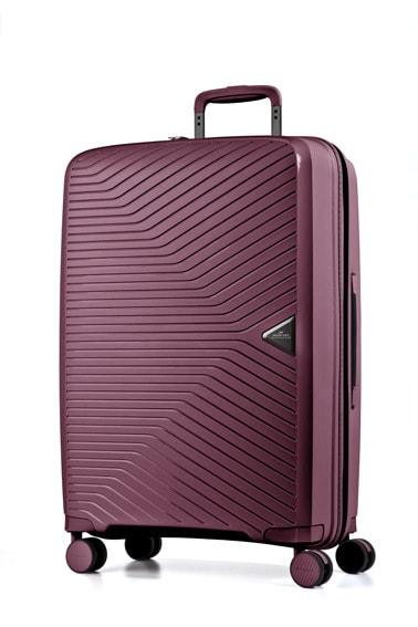 March Cestovní kufr Gotthard 70 l - vínová