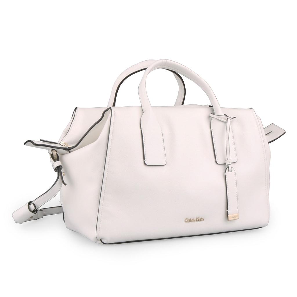 Calvin Klein Dámská kabelka Downtown Duffle K60K603897 - bílá