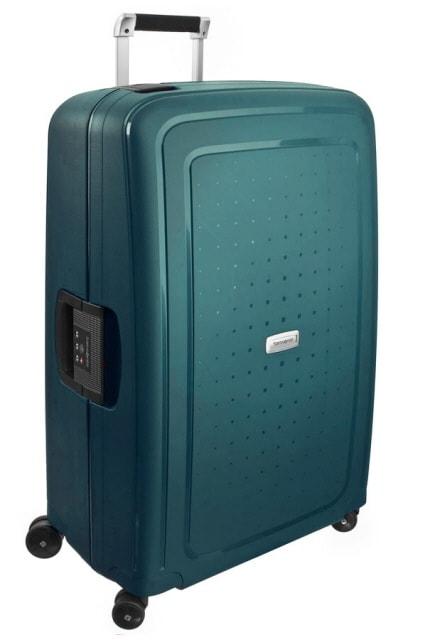 Samsonite Cestovní kufr S'Cure DLX Spinner U44 102 l - zelená
