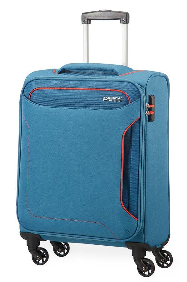 American Tourister Kabinový cestovní kufr Holiday Heat Spinner 50G 38 l - světle modrá