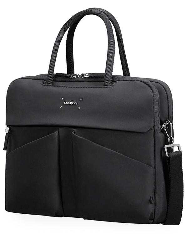 """Samsonite Dámská taška na notebook Lady Tech 43N 14.1"""" - černá"""