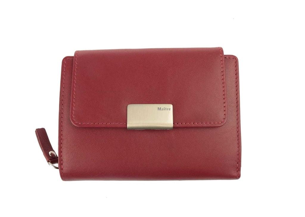 Maitre Dámská kožená peněženka Diethilde 4060001021 - červená