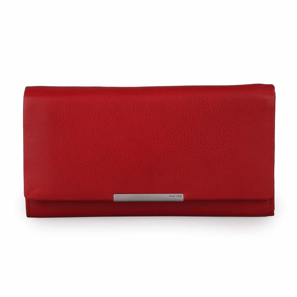 Maitre Dámská kožená peněženka Belg 4060001414 - červená