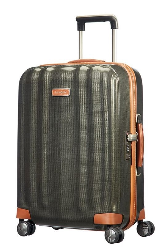 Samsonite Kabinový cestovní kufr Lite-Cube DLX Spinner 82V 43,5 l - zelená