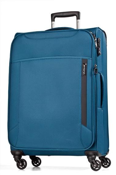 March Velký cestovní kufr Cloud 104 l - modrá