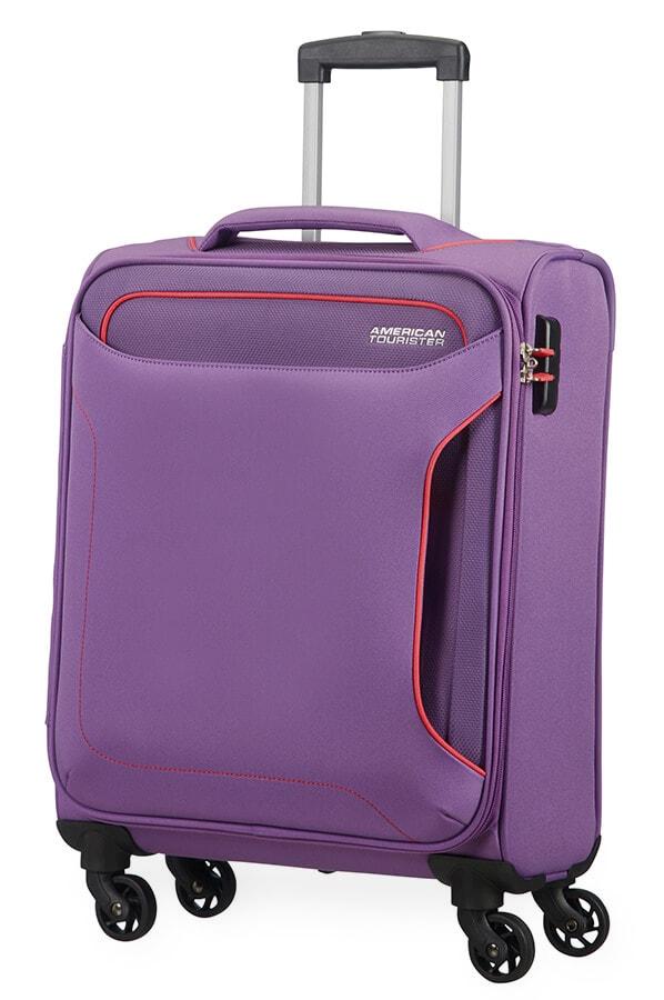 American Tourister Kabinový cestovní kufr Holiday Heat Spinner 50G 38 l - fialová