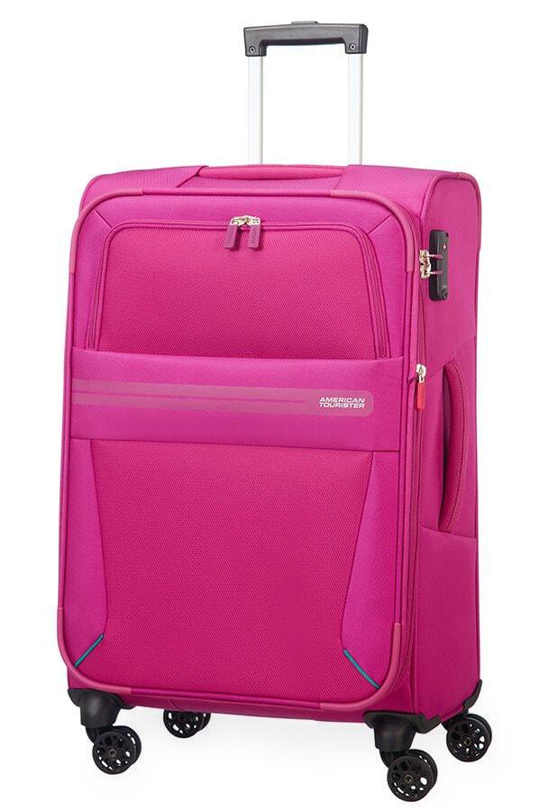 American Tourister Cestovní kufr Summer Voyager Spinner EXP 29G 67,5/76 l - růžová