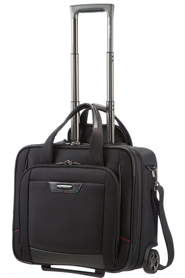 Samsonite Kabinový kufr Pro DLX4 Rolling Tote 16,4' 35V-009 - černá P4922