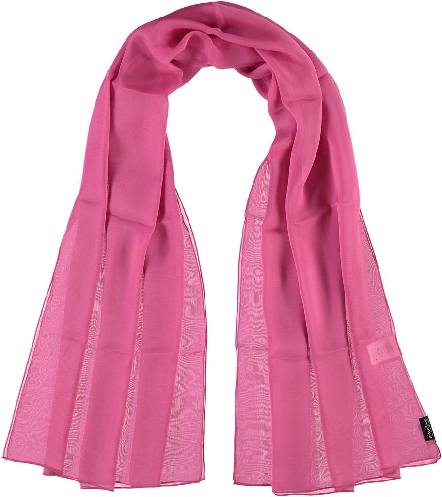 Fraas Dámský hedvábný obdélníkový šátek 622180 - růžová 68b3033c98