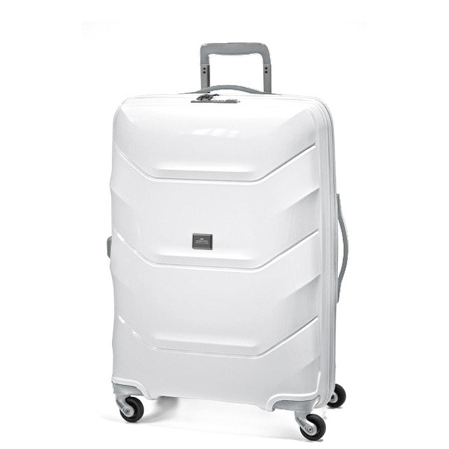 March Střední cestovní kufr Vienna 77 l - bílá