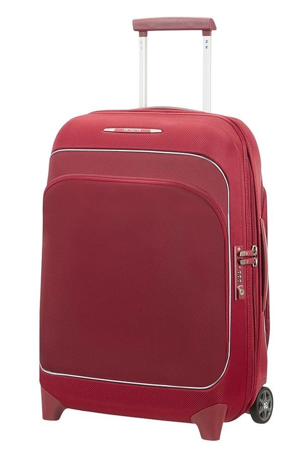 Samsonite Kabinový cestovní kufr Fuze 35/42,5 l - červená