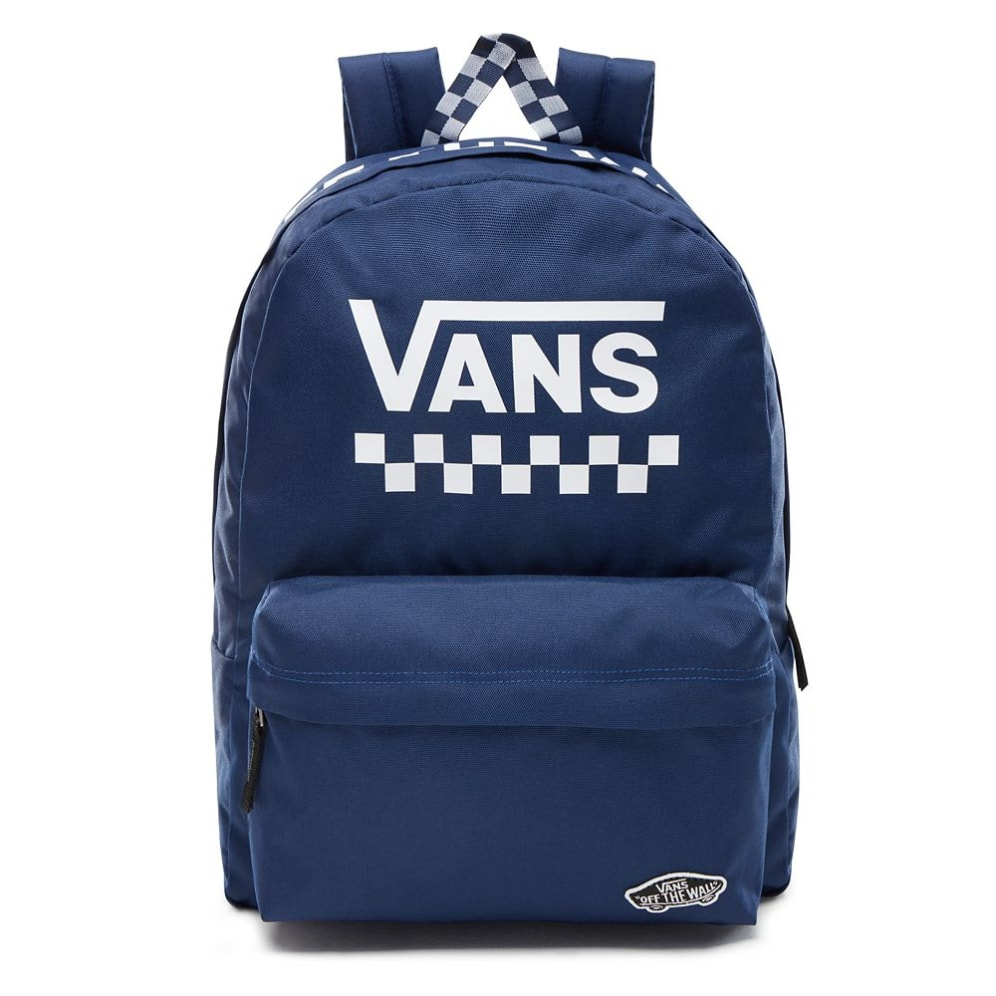 VANS Dámský batoh WM Sporty Realm Back Medieval Blue Too Much Fun 22 l