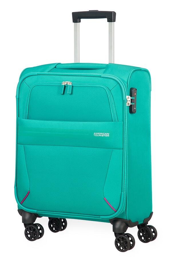 American Tourister Kabinový cestovní kufr Summer Voyager Spinner 29G 36 l - zelená