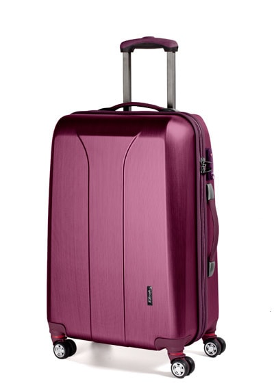 March Střední cestovní kufr New carat 76 l - růžová