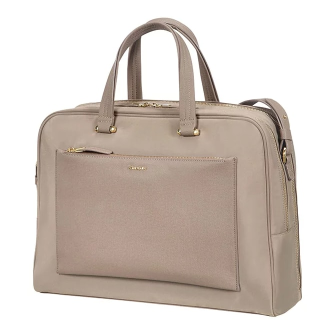 "Samsonite Dámská taška na notebook Zalia 85D-005 15.6"" - béžová 85D*005-22"