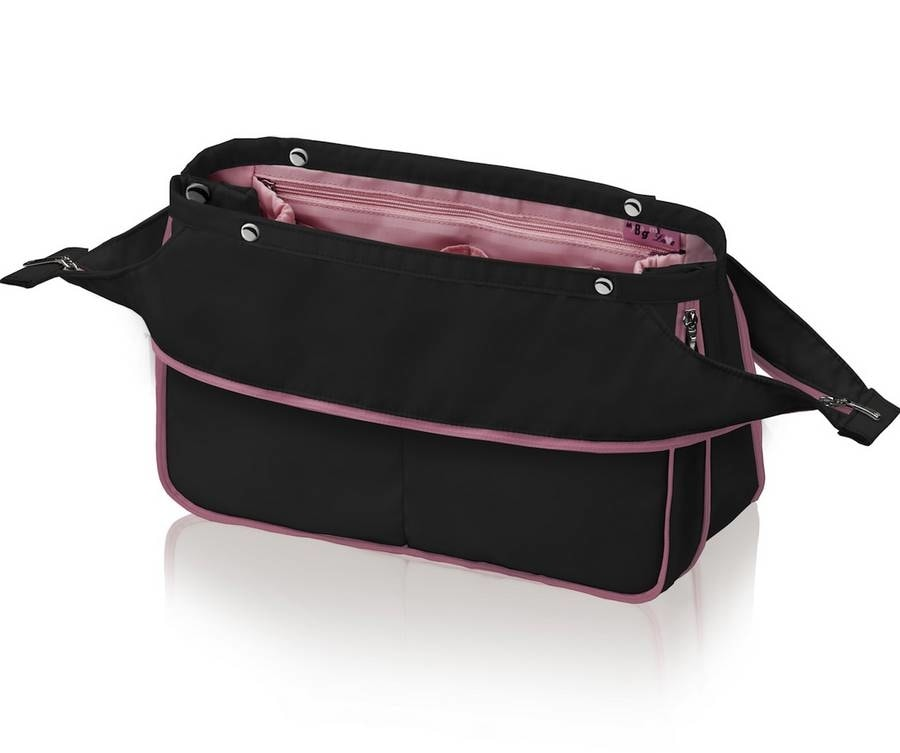 Organizér do kabelky Duo Deluxe černo-růžová - My Bag My Love ... eeb5fa04617