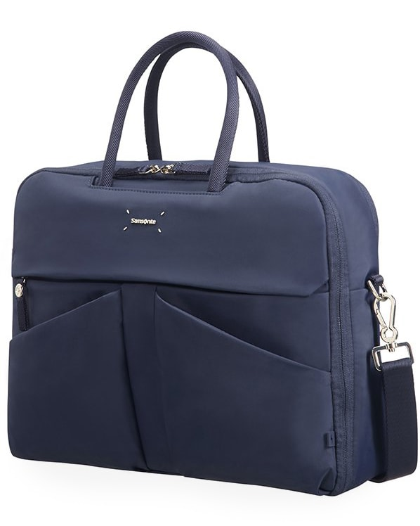 """Samsonite Dámská taška na notebook Lady Tech 43N 15.6"""" - tmavě modrá"""