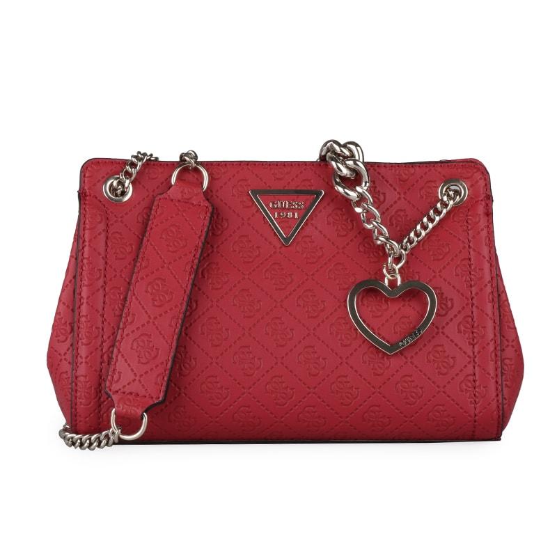 GUESS Dámská kabelka přes rameno Lyra HWSG7100350 - červená 075ac571584