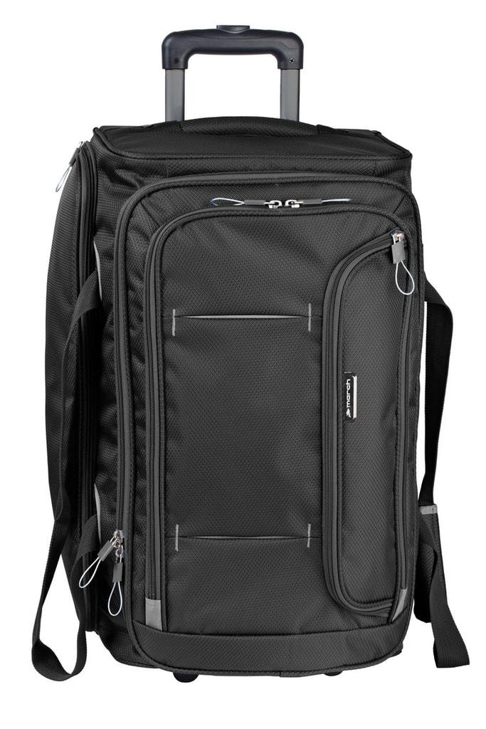 March Cestovní taška Gogobag 102 l - černá