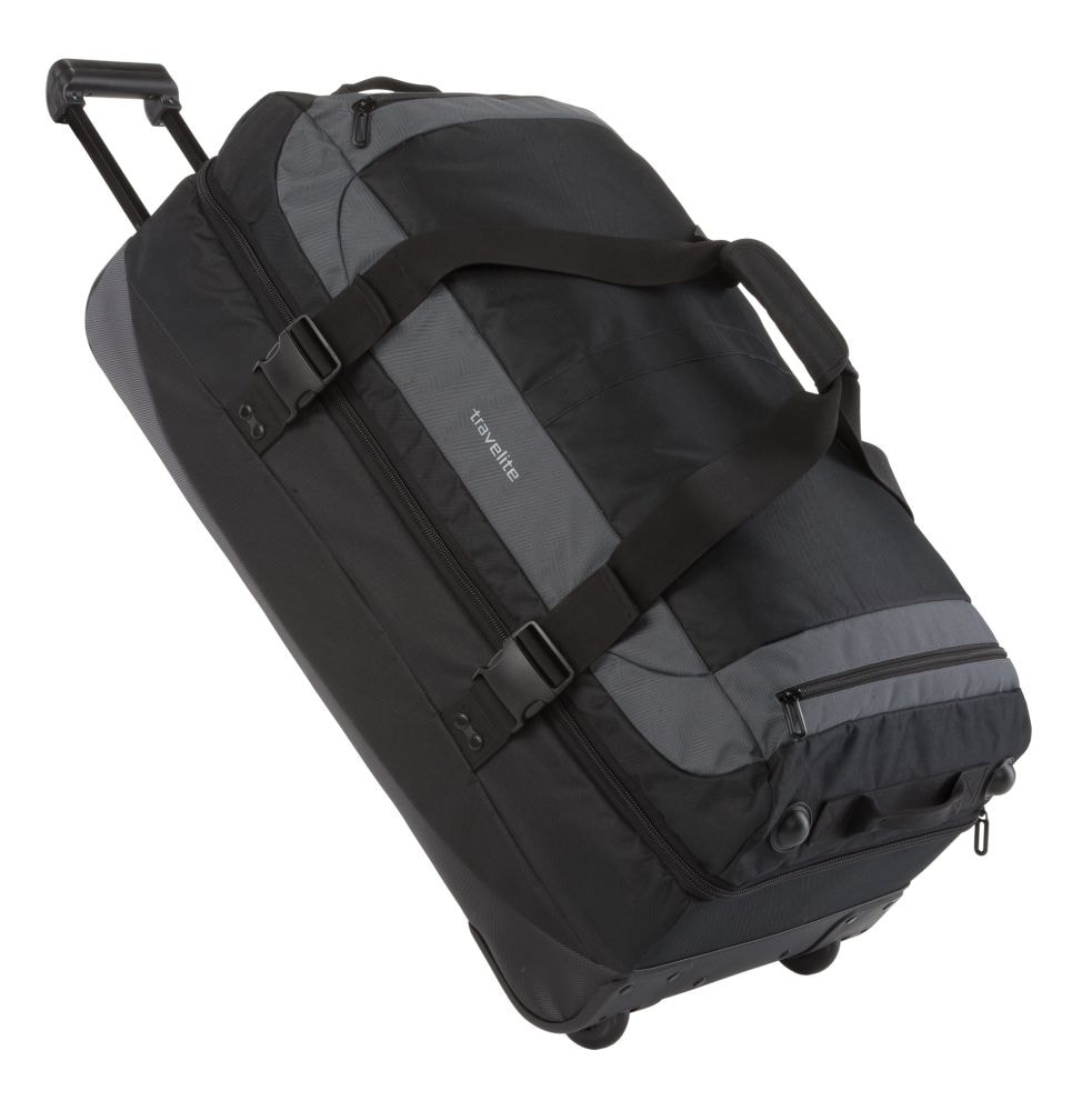 Travelite Cestovní taška Basics Double-decker Black 93 l