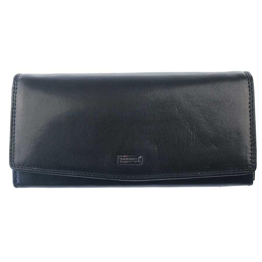 Cosset Dámská kožená peněženka Cosset 4406, černá
