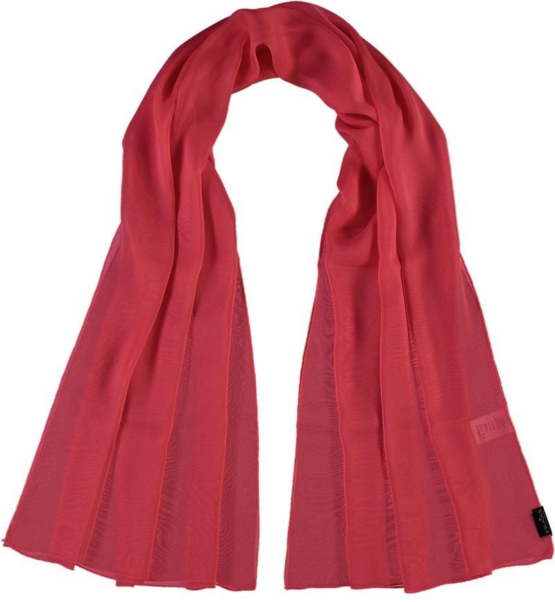 Fraas Dámský hedvábný obdélníkový šátek 622180 - červená 82b8643b91