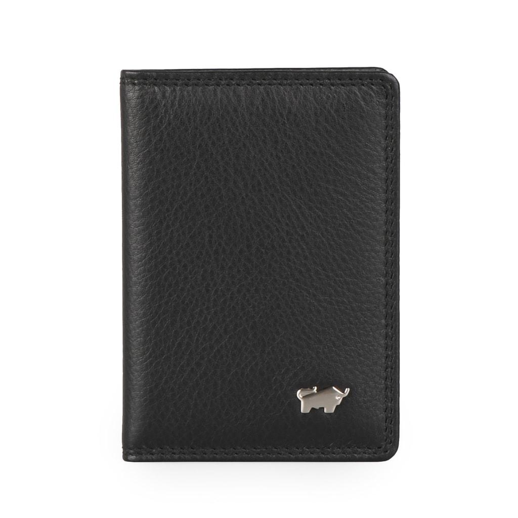 Braun Büffel Kožené pouzdro na karty a vizitky Golf 90446-051 - černá