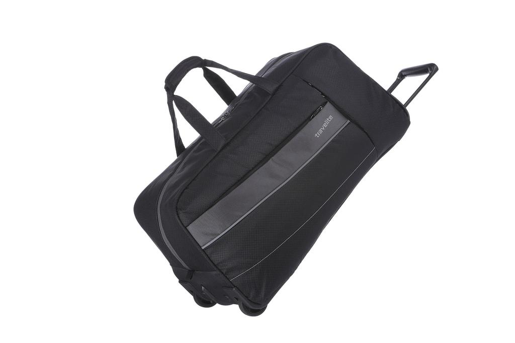 Travelite Cestovní taška Kite 2w Travel Bag Black 89901-01 68 l