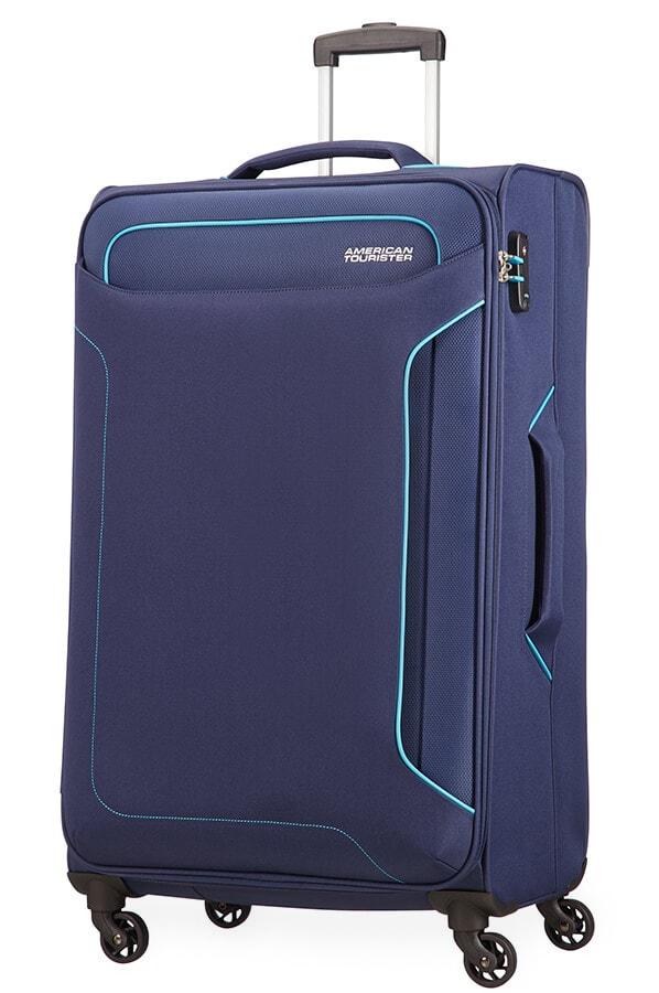 American Tourister Cestovní kufr Holiday Heat Spinner 50G 108 l - tmavě modrá
