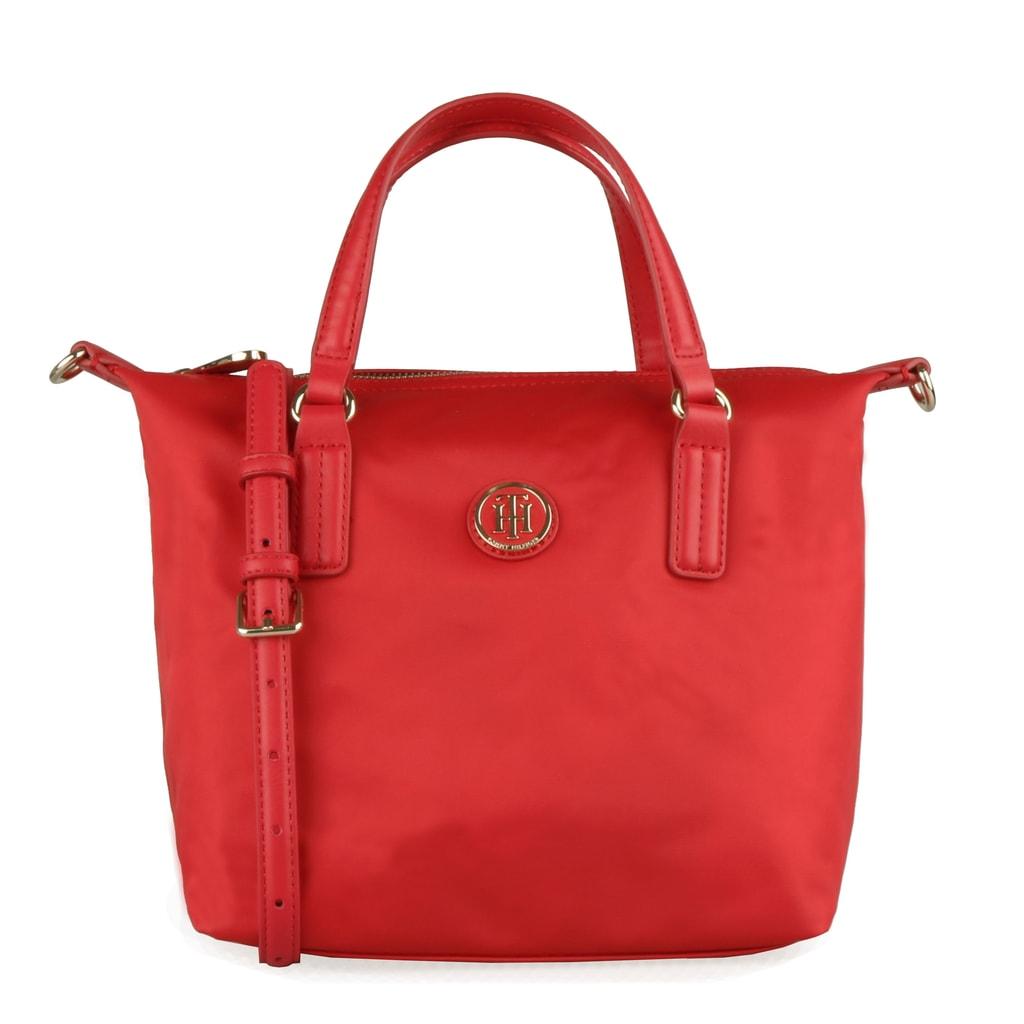 b9818281492 Tommy Hilfiger Dámská kabelka do ruky Poppy Small AW0AW06407 - červená