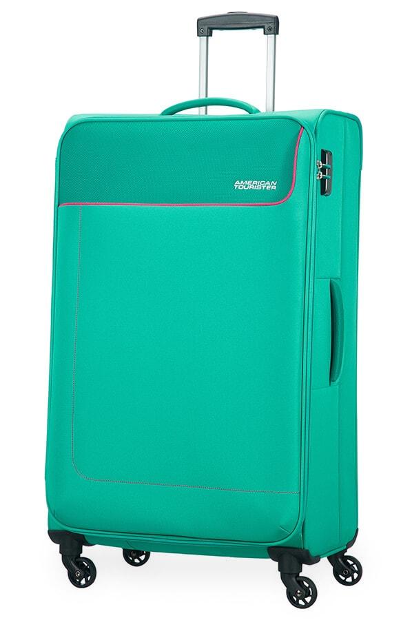 American Tourister Cestovní kufr Funshine Spinner 20G 99,5 l - zelená