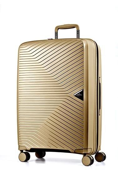 March Cestovní kufr Gotthard 70 l - zlatá