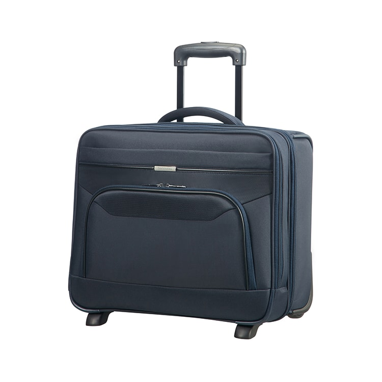 Samsonite Kabinový cestovní kufr Desklite 28,5 l - modrá