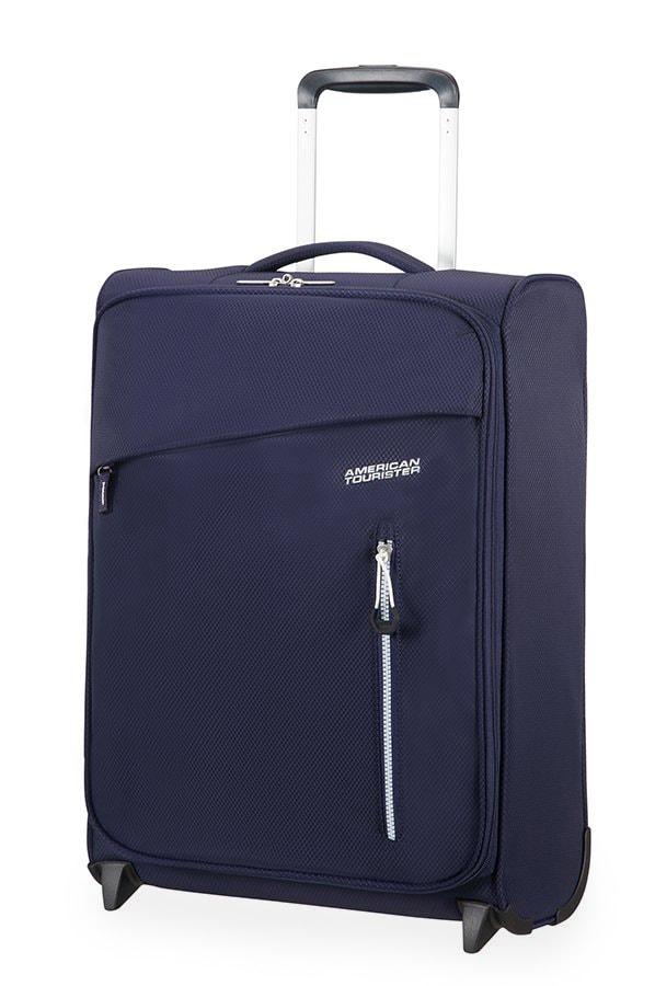 American Tourister Kabinový cestovní kufr Litewing Upright 38G 40 l - tmavě modrá
