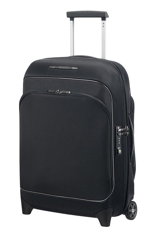 Samsonite Kabinový cestovní kufr Fuze 35/42,5 l - černá