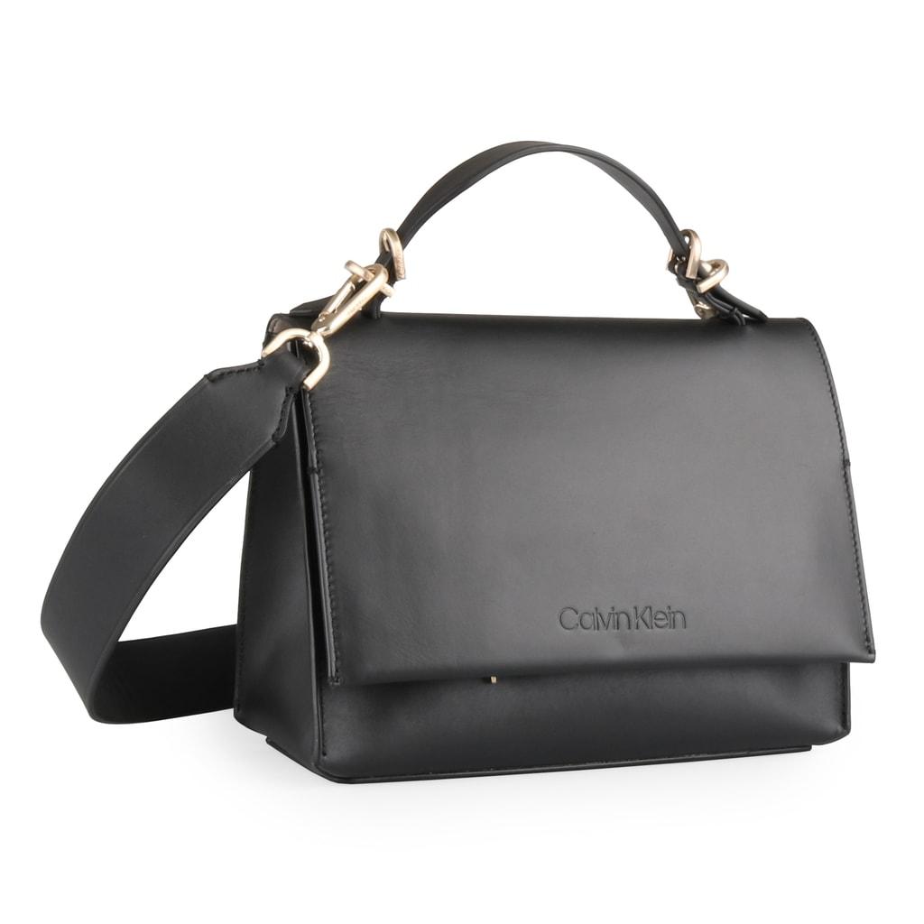 Calvin Klein Dámská kožená kabelka přes rameno Serene Small K60K604433 -  černá 795011c6ceb