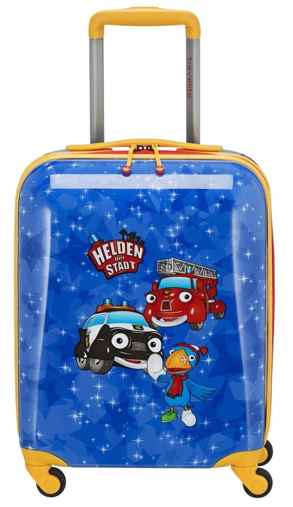 Travelite Dětský kabinový cestovní kufr Heroes of the City 4w S 28 l