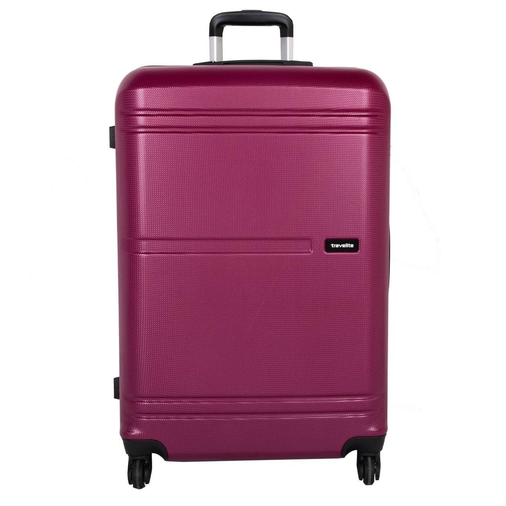 Travelite Cestovní kufr Yamba 4w L Berry 93 l