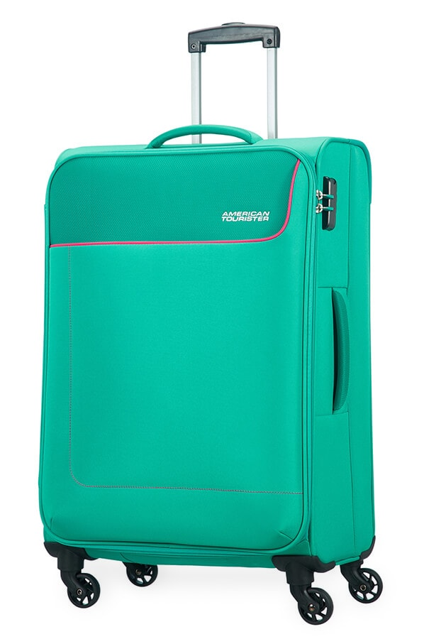 American Tourister Cestovní kufr Funshine Spinner 20G 63,5 l - zelená