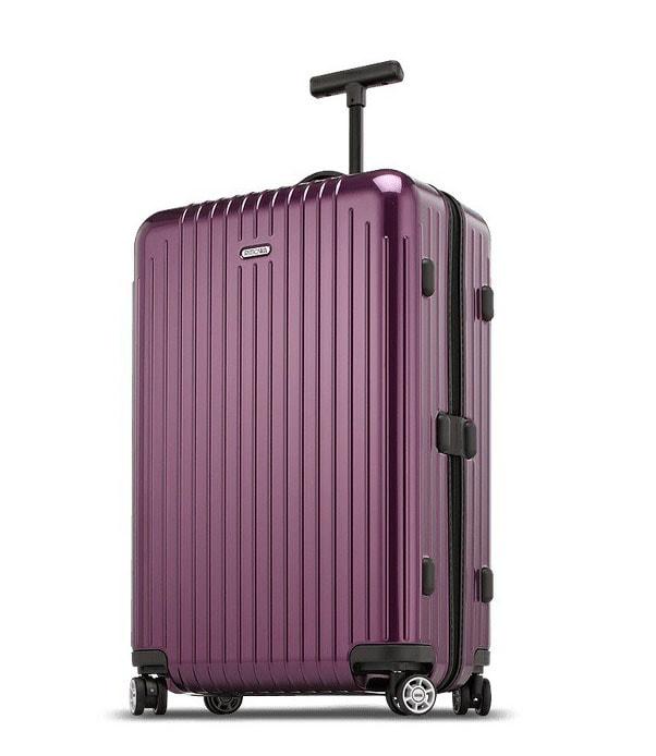 Rimowa Cestovní kufr Salsa Air 65 l - fialová