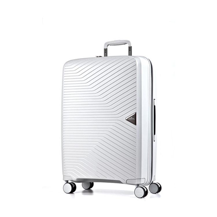 March Cestovní kufr Gotthard 111 l - bílá