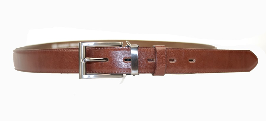 Penny Belts Pánský kožený opasek 30/020/2, hnědý