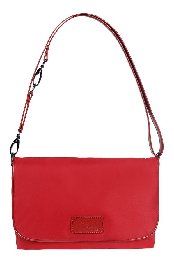 Lipault Dámská crossbody kabelka Clutch bag P51-023 - červená