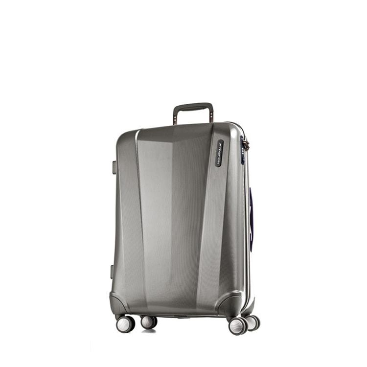 March Střední cestovní kufr Vision 71 l - šedá